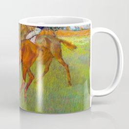 Before the Race by Edgar Degas Coffee Mug
