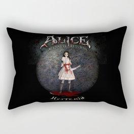 Alice Madness Returns Hysteria Game Design Rectangular Pillow