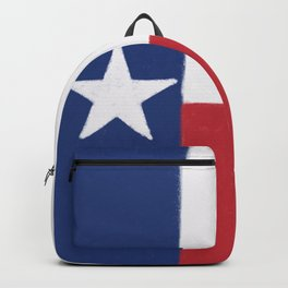 Texas State Flag Backpack