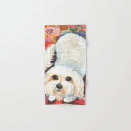 Maltese by Robynne Hand & Bath Towel