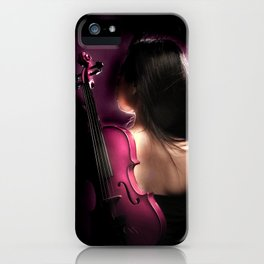 VIOLIN WOMAN iPhone Case