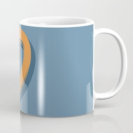 BOLD 'D' DROPCAP Coffee Mug
