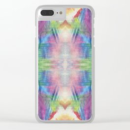 Pattern-228 Clear iPhone Case