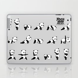 Yoga Bear - Panda Laptop & iPad Skin