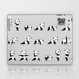 Yoga Bear - Panda Laptop & iPad Skin