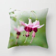 Fuchsia  8686 Throw Pillow