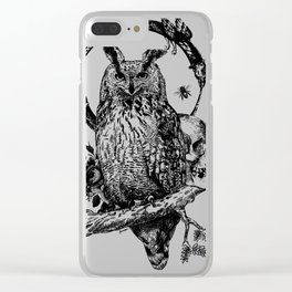 Owl-ing Clear iPhone Case