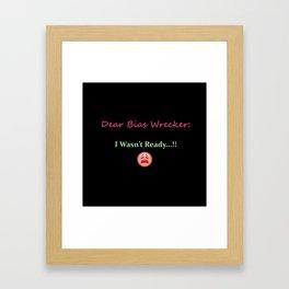 K-Poppin': Bias II Framed Art Print