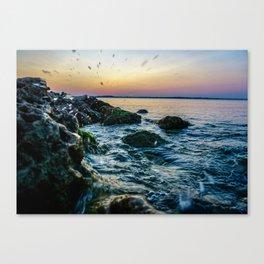 Waco Waves Canvas Print