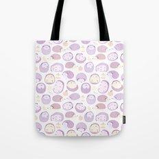 Happy Hedgies - Kawaii Hedgehog Doodle Tote Bag