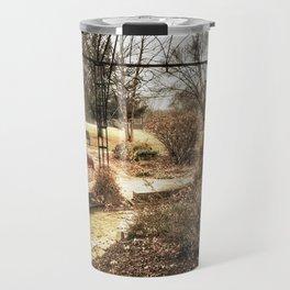Centennial Garden - Middle Park, Bettendorf, Iowa - Winter 2017 Travel Mug