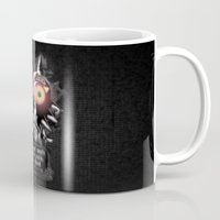 majora Mugs featuring Majora Mask by Janismarika