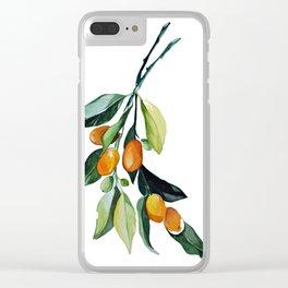 Kumquat may Clear iPhone Case