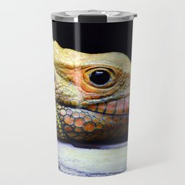 Caiman Lizard Profile Travel Mug