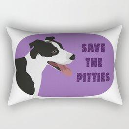 Save The Pitties Rectangular Pillow