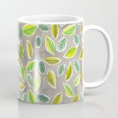 Leaf Watercolor Pattern by Robayre Mug