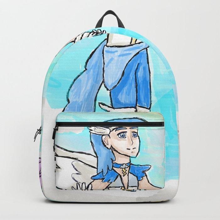 Magical Bronie Boys Lightning Bolt And Cloud Kicker Backpack