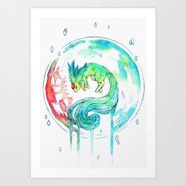 Carbuncle Art Print