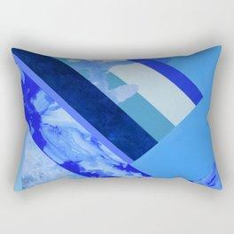 Seasonal Blue 3 Rectangular Pillow