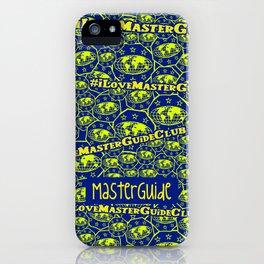 #ILoveMasterGuideClub iPhone Case