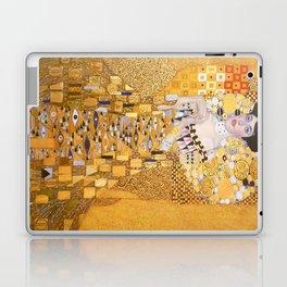 Gustav Klimt - The Woman in Gold Laptop & iPad Skin