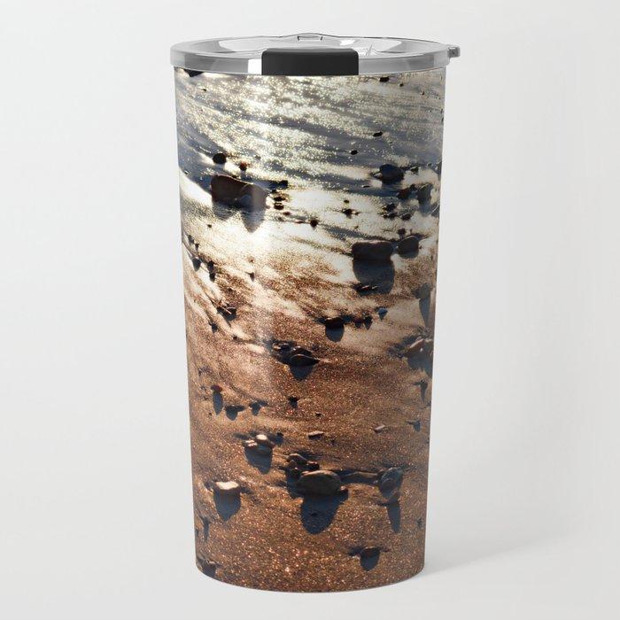 Bronze Reflection from Narragansett Sunset Travel Mug