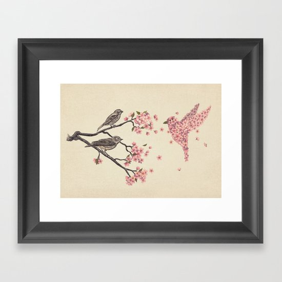 Blossom Bird  Framed Art Print
