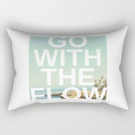 Go with the Flow Rectangular Pillow