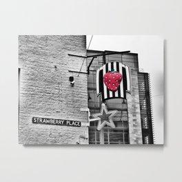 The Strawberry Metal Print