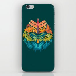 Bugs & Butterflies 2 iPhone Skin