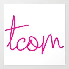 #TCOM Canvas Print
