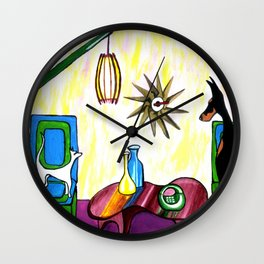 First Move Wall Clock