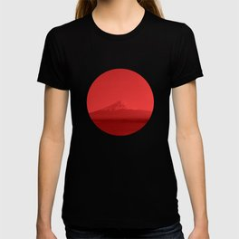 Japanese Flag - Mount Fuji, Japan T-shirt