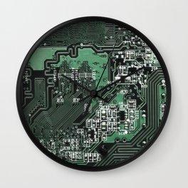 Circuit Board 2 Wall Clock