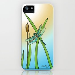 Dragonflies Fly iPhone Case
