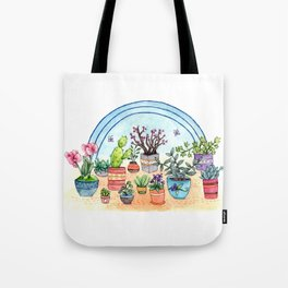 Household Plants Tote Bag