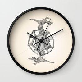 Caged Merman Wall Clock
