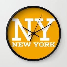 NY New York City Wall Clock