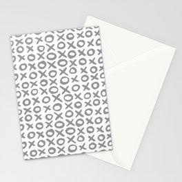 Xoxo Valentine's Day - Ultimate Gray Stationery Cards
