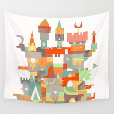 Structura 8 Wall Tapestry