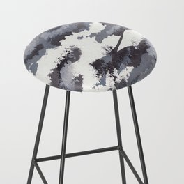 clouds_november Bar Stool