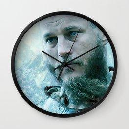 Winter Ragnar Wall Clock