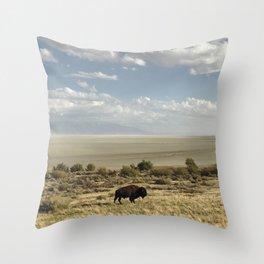 The Buffalo Bison Throw Pillow