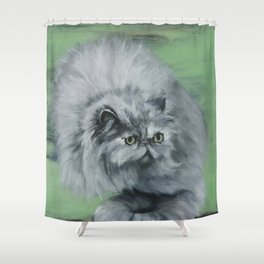 Magic Cat Shower Curtain