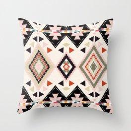 tribal fusion Throw Pillow