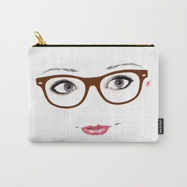 Hipster Eyes 1 Carry-All Pouch