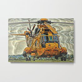126 Sea King Metal Print