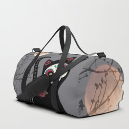 Day of the Dead Cat Duffle Bag