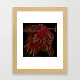 Creature of Fire (The Firebird) Framed Art Print