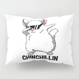 Dabbing Chinchillin T Shirt Chinchilla Cute Pet Pillow Sham